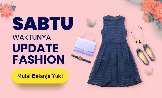 Sabtu Waktunya Update Fashion