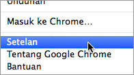 Chrome mac step2