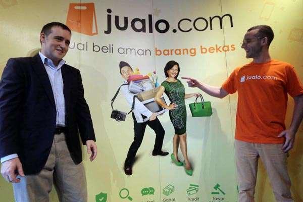 Chaim Fetter beserta Partner Penggagas Jualo.com