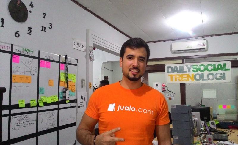 Pedro, COO Jualo.com