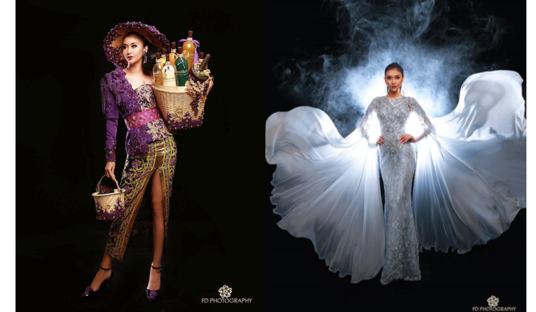 Busana Kevin Liliana di Ajang Miss International 2017
