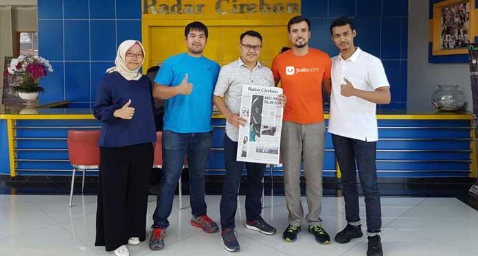 Kerja Sama Jualo.com dengan Radar Cirebon