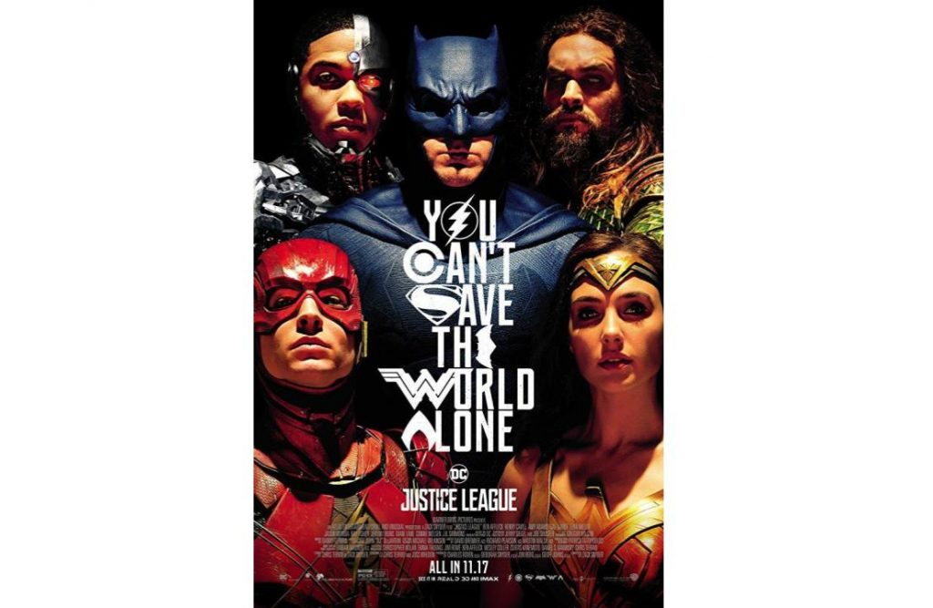Poster Film Justice League