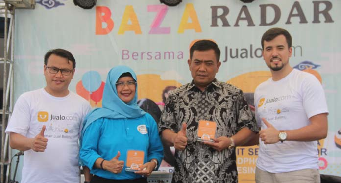 Walikota Cirebon dalam Acara Bazaradar