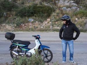 Restorasi Motor bebek honda