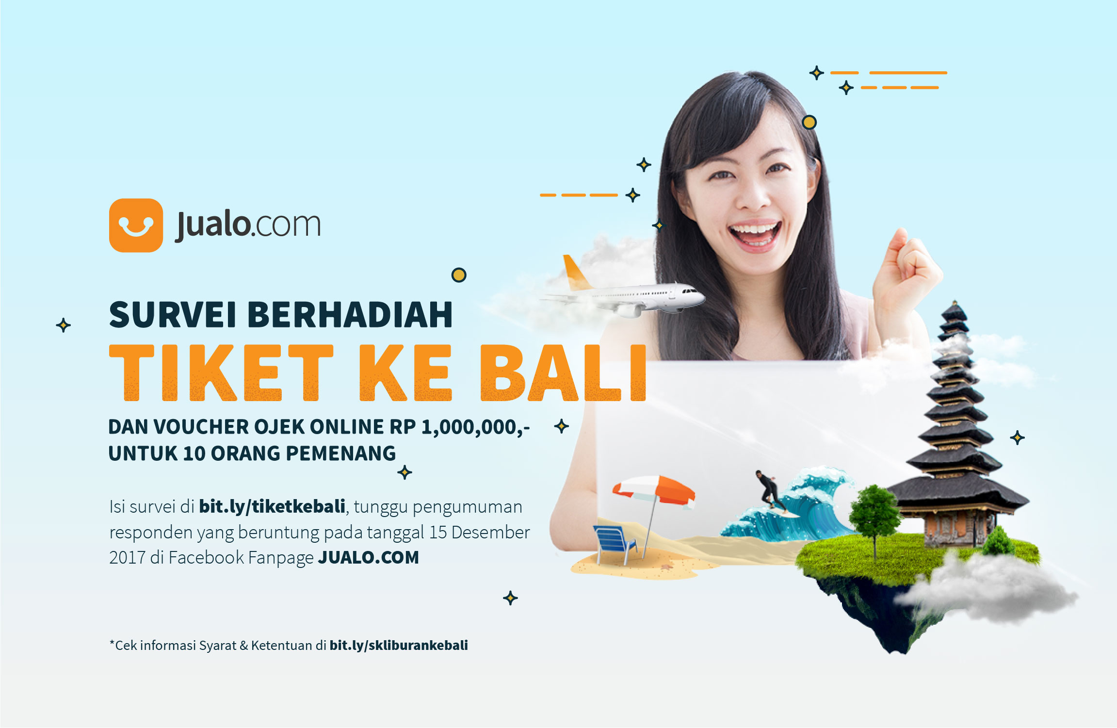 Survei Liburan ke Bali