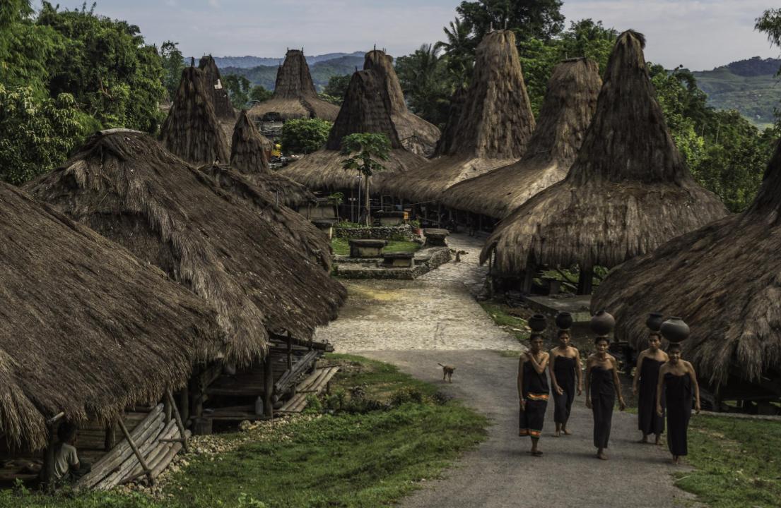 Desa Tradisional Waitabar