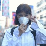 masker virus corona di Indonesia