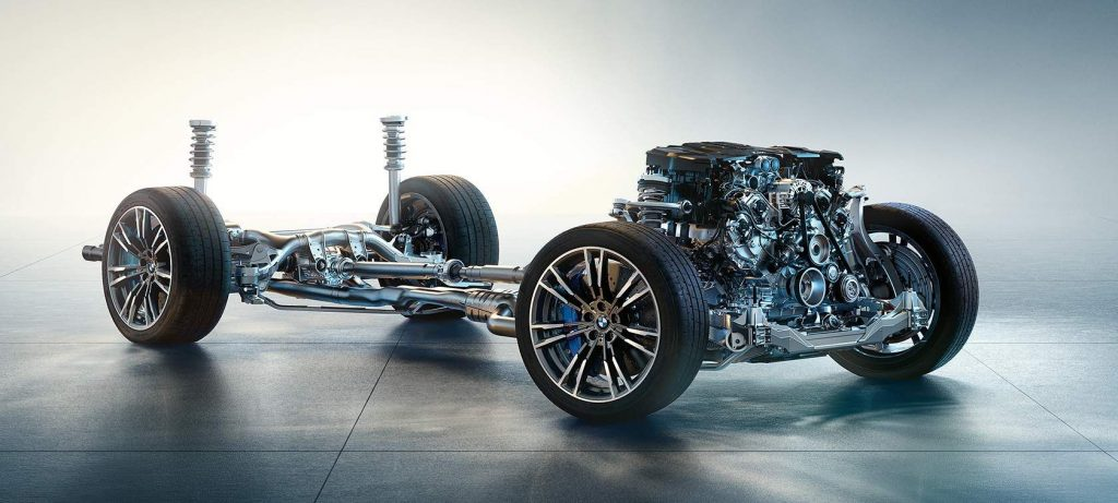 engine chassis BMW M5