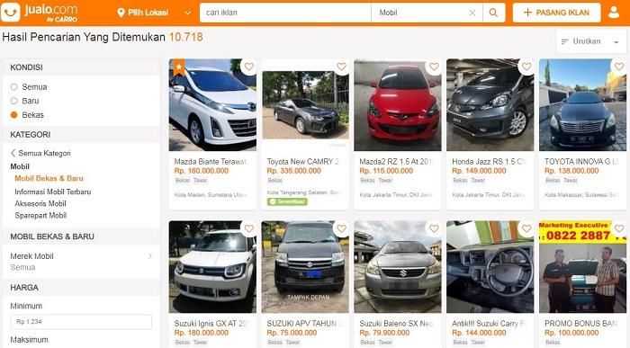 Menjual Mobil Bekas