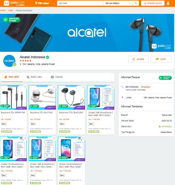 HP Alcatel Official Store