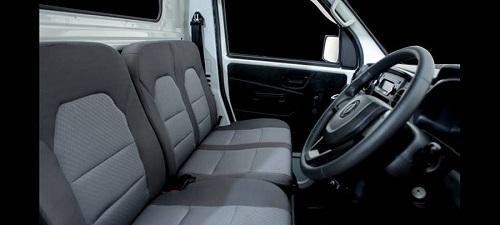 interior dfsk super cab