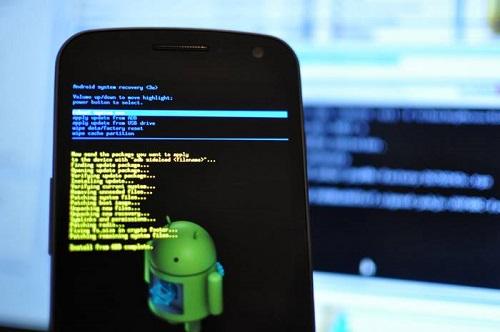 HP Android Lemot-factory reset