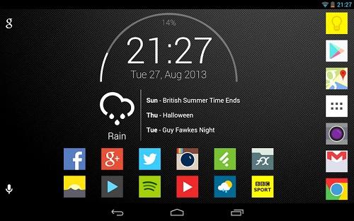 HP Android Lemot-Widget