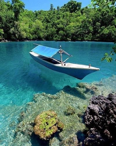 tempat wisata-danau labuan cermin