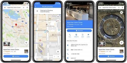 aplikasi smartphone-google maps