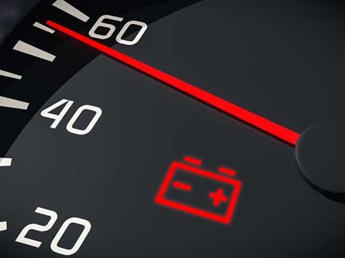 indikator baterai mobil