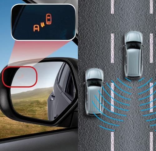 Rear Cross Traffic Alert-indikator