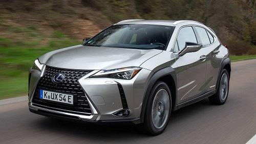 mobil listrik-Lexus
