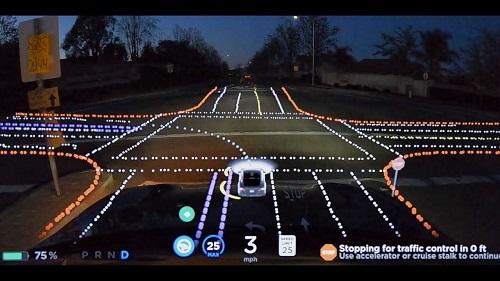 AI mobil tesla