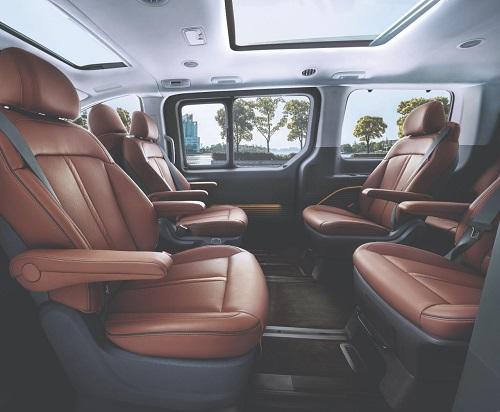 Interior belakang Hyundai Staria