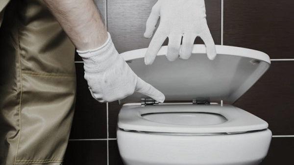 WC mampet